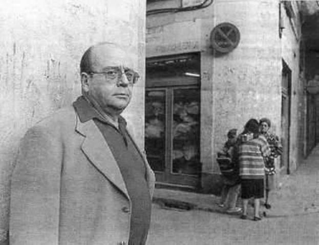 Visitant el Raval amb Manolo Vázquez Montalbán